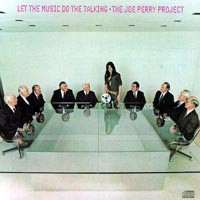 [The Joe Perry Project Let The Music Do The Talking Album Cover]