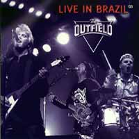 [The Outfield Live In Brazil Album Cover]
