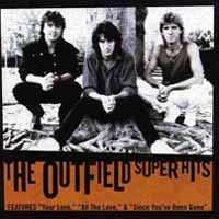 [The Outfield Super Hits Album Cover]