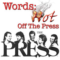 [The Press Words: Hot Off The Press Album Cover]