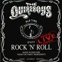 Quireboys 100 Percent Live 2002 Album Cover