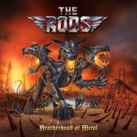 [The Rods Brotherhood Of Metal Album Cover]