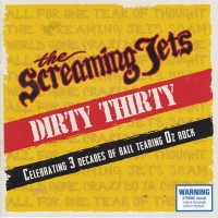 The Screaming Jets Dirty Thirty Album Cover