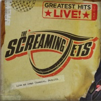 [The Screaming Jets Greatest Hits Live! Album Cover]