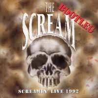 [The Scream Screamin' Live 1992 Album Cover]
