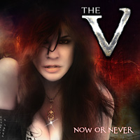 [The V Now or Never Album Cover]