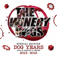 [The Winery Dogs Dog Years: Live In Santiago and Beyond 2013-2016 Album Cover]
