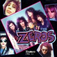 The Zeros Names Vol. 1 Album Cover