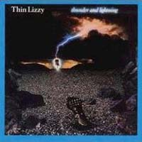 Thin Lizzy Thunder and Lightning Album Cover