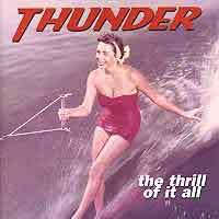 [Thunder The Thrill Of It All Album Cover]