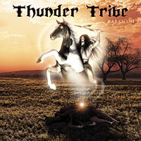 [Thunder Tribe War Chant Album Cover]