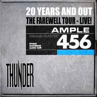 Thunder 20 Years Out: The Farewell Tour - Hammersmith Album Cover
