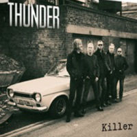 [Thunder Killer EP. Album Cover]