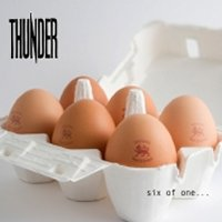Thunder Six Of One Album Cover