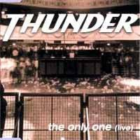 [Thunder The Only One (Live) Album Cover]