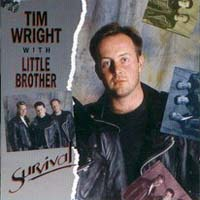 Tim Wright With Little Brother Survival Album Cover