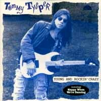 [Tommy Tysper Young And Rockin' Crazy Album Cover]
