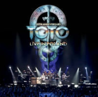 [Toto 35th Anniversary Tour: Live In Poland Album Cover]
