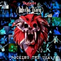 [Tramp's White Lion Rocking the USA Album Cover]