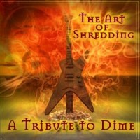 [Various Artists The Art of Shredding: A Tribute to Dime Album Cover]