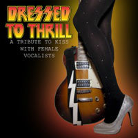 [Tributes Dressed To Thrill: A Tribute To KISS Album Cover]