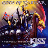 [Tributes Gods Of Thunder - A Norwegian Tribute To KISS Album Cover]