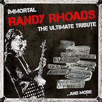 [Tributes Immortal Randy Rhoads - The Ultimate Tribute Album Cover]