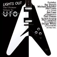 [Tributes Lights Out: The Ultimate Tribute To UFO Album Cover]