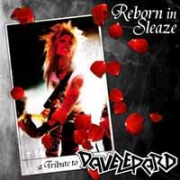 [Tributes Reborn In Sleaze - A Tribute to Dave Lepard Album Cover]