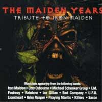 Tributes The Maiden Years - Tribute to Iron Maiden Album Cover