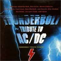 Tributes Thunderbolt: A Tribute To AC/DC Album Cover
