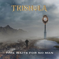 [Trishula Time Waits For No Man Album Cover]