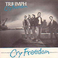 [Triumph Cry Freedom Album Cover]