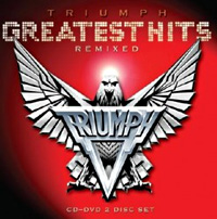 [Triumph Greatest Hits Remixed Album Cover]