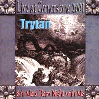 [Trytan Live at Cornerstone 2001 Album Cover]