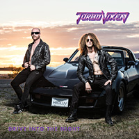 [Turbo Vixen Drive into the Night Album Cover]