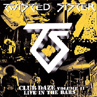 [Twisted Sister Club Daze II Album Cover]