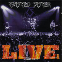[Twisted Sister Live at Hammersmith Album Cover]