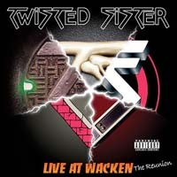 [Twisted Sister Live At Wacken: The Reunion Album Cover]