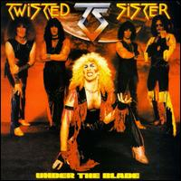 [Twisted Sister Under the Blade Album Cover]
