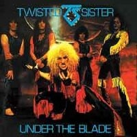 Twisted Sister Under the Blade Album Cover