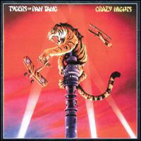 [Tygers Of Pan Tang Crazy Nights Album Cover]