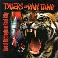 [Tygers Of Pan Tang Live at Nottingham Rock City Album Cover]