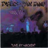 [Tygers Of Pan Tang Live At Wacken Album Cover]
