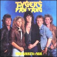 [Tygers Of Pan Tang The Wreck-Age Album Cover]