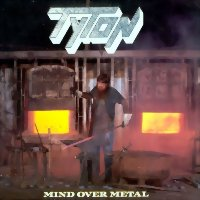 [Tyton Mind Over Metal Album Cover]
