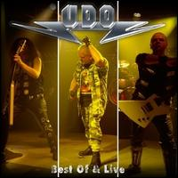 UDO Best Of and Live Album Cover