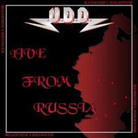 [UDO Live From Russia Album Cover]