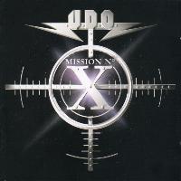 [UDO Mission No. X Album Cover]