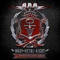 [UDO Navy Metal Night Album Cover]